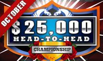 DerbyWars October $25,000 Head-to-Head Bracket Championship